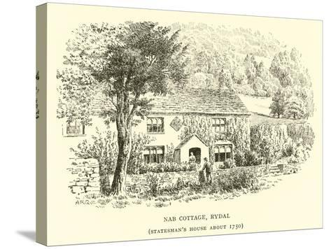 Nab Cottage, Rydal-Alfred Robert Quinton-Stretched Canvas Print