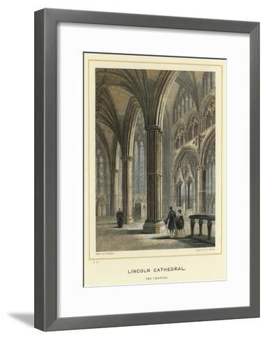 Lincoln Cathedral, the Chancel--Framed Art Print