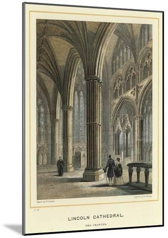 Lincoln Cathedral, the Chancel--Mounted Giclee Print