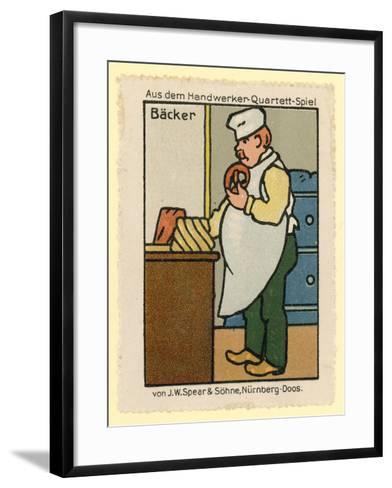 Baker--Framed Art Print