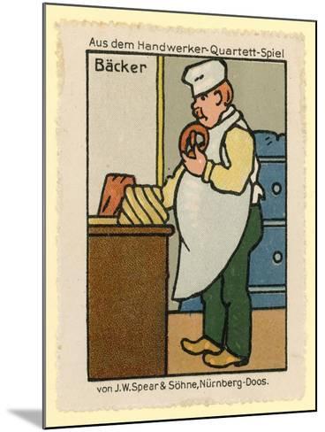 Baker--Mounted Giclee Print