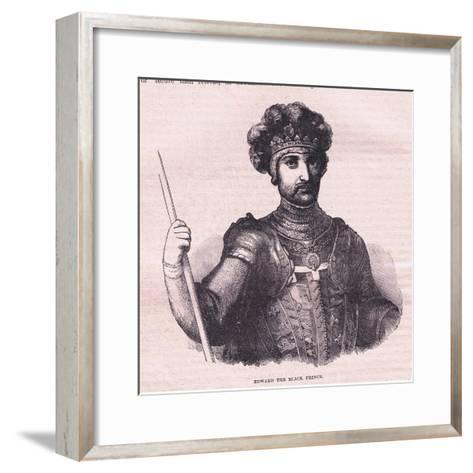 Edward the Black Prince--Framed Art Print