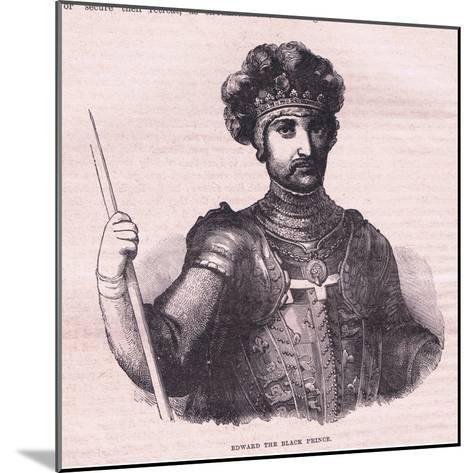 Edward the Black Prince--Mounted Giclee Print