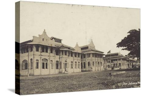 The Johore Hotel--Stretched Canvas Print