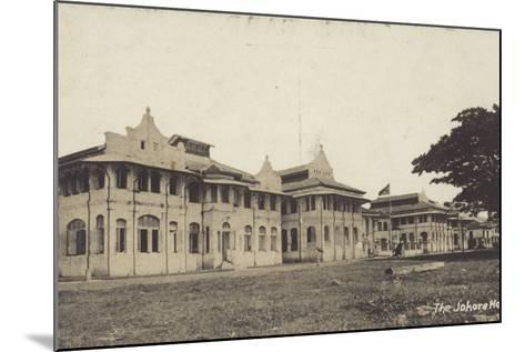 The Johore Hotel--Mounted Photographic Print