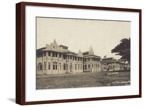 The Johore Hotel--Framed Art Print