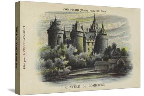 Chateau De Combourg, Combourg, Manche-French School-Stretched Canvas Print