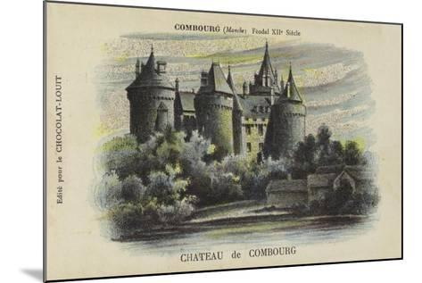 Chateau De Combourg, Combourg, Manche-French School-Mounted Giclee Print
