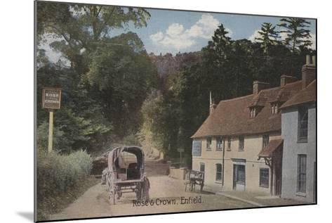 Rose and Crown, Enfield--Mounted Photographic Print