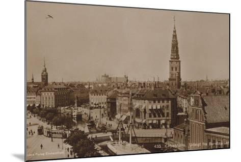 Copenhagen, View from the Stock Exchange Tower--Mounted Photographic Print