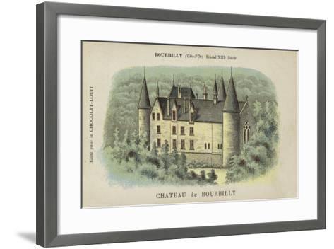 Chateau De Bourbilly, Bourbilly, Cote-D'Or--Framed Art Print