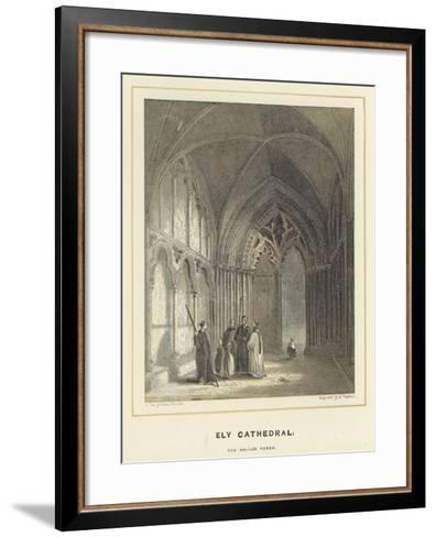 Ely Cathedral, the Galilee Porch-Hablot Knight Browne-Framed Art Print