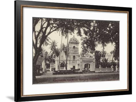 The Mosque in Cinnamon Gardens--Framed Art Print