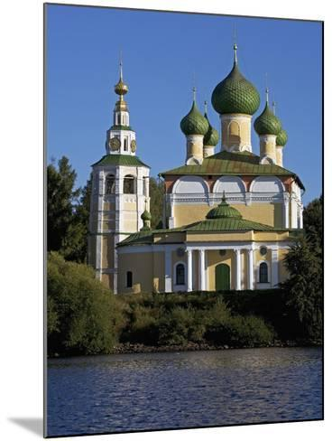 The Volga and Kremlin--Mounted Giclee Print