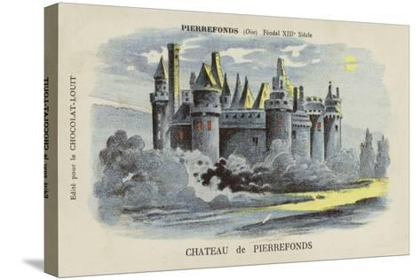Chateau De Pierrefonds, Pierrefonds, Oise--Stretched Canvas Print
