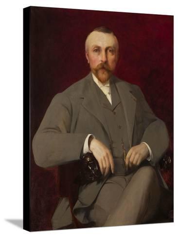 Portrait of Paul Marmottan, 1898-Elie Nonclercq-Stretched Canvas Print