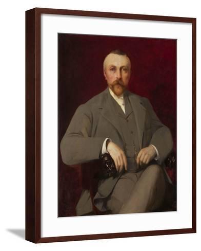 Portrait of Paul Marmottan, 1898-Elie Nonclercq-Framed Art Print