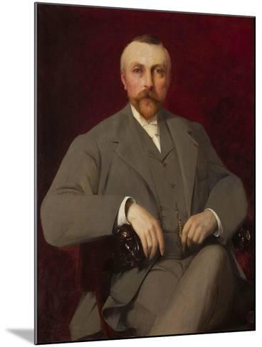 Portrait of Paul Marmottan, 1898-Elie Nonclercq-Mounted Giclee Print