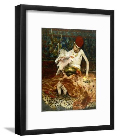 The Turkish Page-William Merritt Chase-Framed Art Print