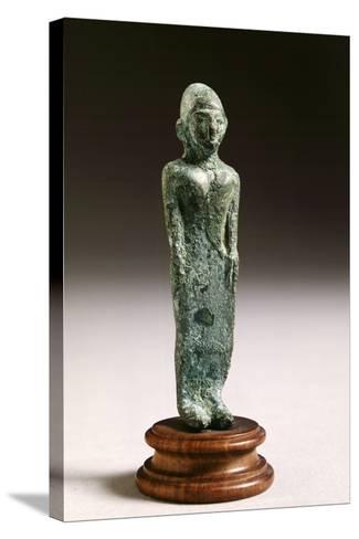 Kore in Bronze, from Fonte Veneziana, Arezzo--Stretched Canvas Print