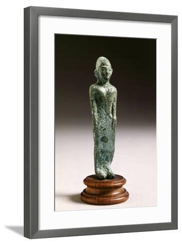 Kore in Bronze, from Fonte Veneziana, Arezzo--Framed Art Print