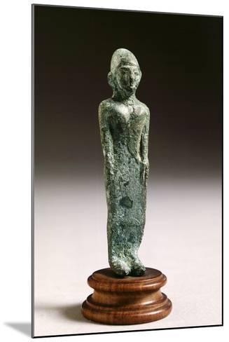 Kore in Bronze, from Fonte Veneziana, Arezzo--Mounted Photographic Print