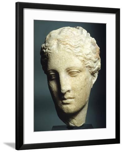 Head of Atalanta--Framed Art Print
