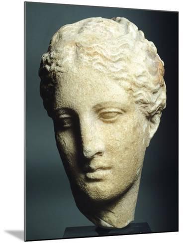 Head of Atalanta--Mounted Giclee Print