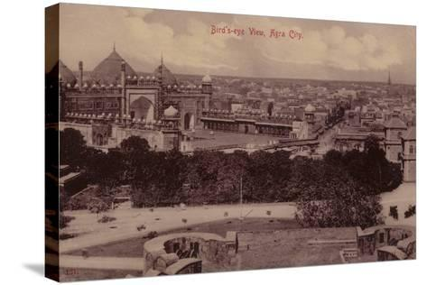 Bird'S-Eye View, Agra City--Stretched Canvas Print
