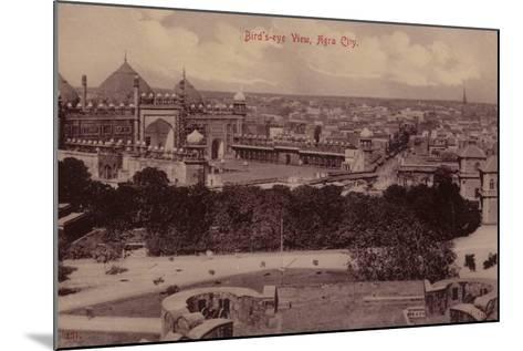 Bird'S-Eye View, Agra City--Mounted Photographic Print