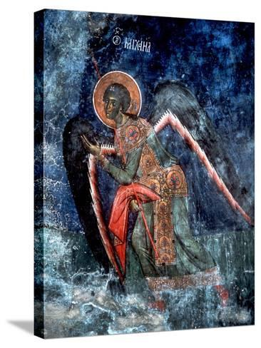 Detail of Archangel Michael--Stretched Canvas Print