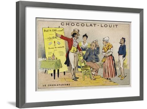 Le Charlatanisme--Framed Art Print