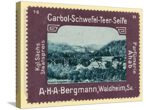 Heiligenborn Viaduct, Saxony, Germany--Stretched Canvas Print