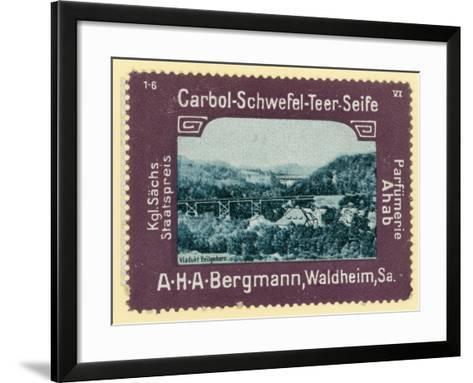 Heiligenborn Viaduct, Saxony, Germany--Framed Art Print