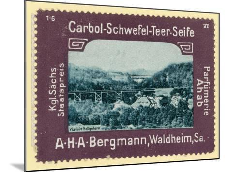 Heiligenborn Viaduct, Saxony, Germany--Mounted Giclee Print