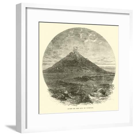 Ruins on the Site of Nineveh--Framed Art Print