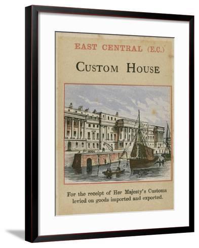 Custom House--Framed Art Print