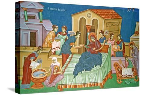 The Birth of the Virgin, Cyprus--Stretched Canvas Print
