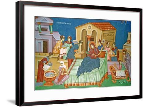 The Birth of the Virgin, Cyprus--Framed Art Print
