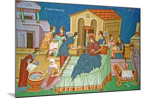 The Birth of the Virgin, Cyprus--Mounted Giclee Print
