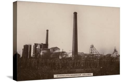 Wharncliffe Woodmor Colliery, Yorkshire--Stretched Canvas Print