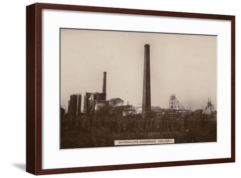Wharncliffe Woodmor Colliery, Yorkshire--Framed Art Print