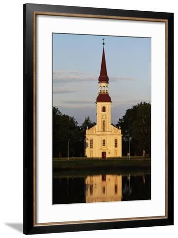 St Michael's Lutheran Church--Framed Art Print