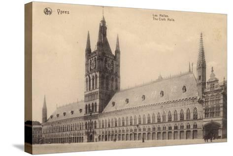 The Cloth Hall, Ypres, Belgium--Stretched Canvas Print