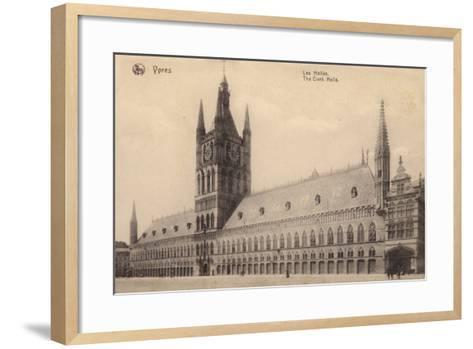 The Cloth Hall, Ypres, Belgium--Framed Art Print