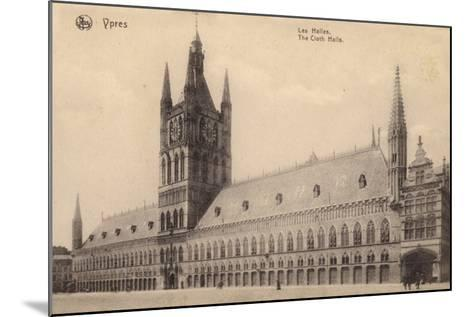 The Cloth Hall, Ypres, Belgium--Mounted Photographic Print