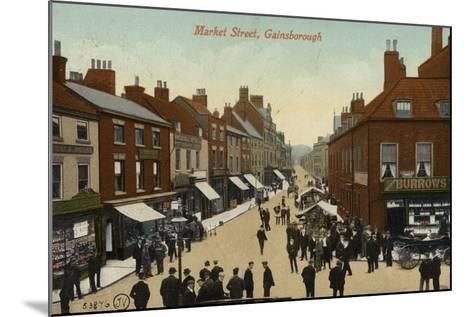 Market Street, Gainsborough--Mounted Photographic Print