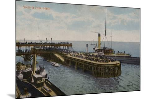 Victoria Pier, Hull, Yorkshire--Mounted Photographic Print
