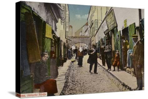 Street in the Jewish Quarter, Vilnius--Stretched Canvas Print