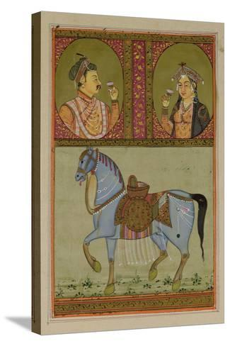 Shah Jahan--Stretched Canvas Print